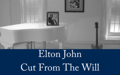 Elton John Cut From The Will After Nine Year Feud