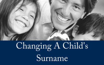 Can You Change Your Child's Surname?