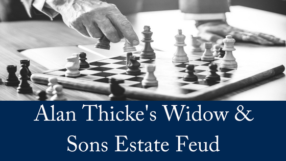 Alan Thicke's Widow & Sons in Estate Feud