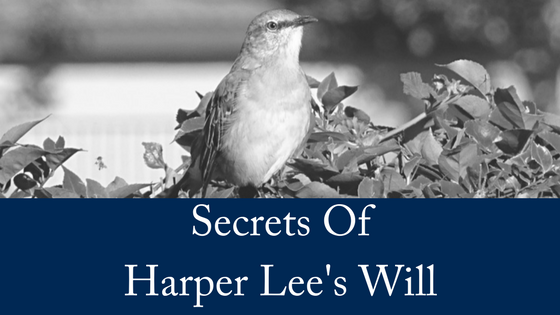 The Secrets of Harper Lee's Will