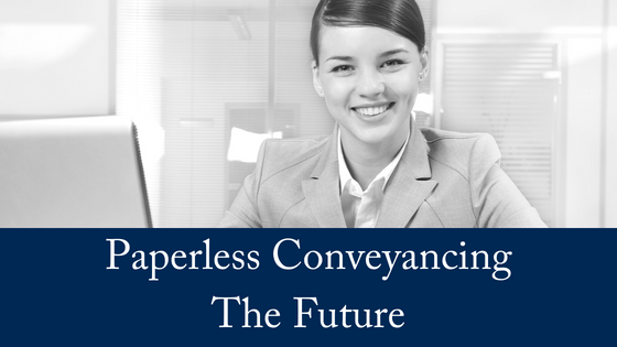 Is Paperless Conveyancing The Future?