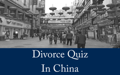 China Introduces Divorce Quiz To Reduce Divorce Rate