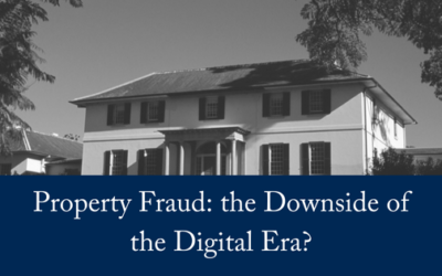 Property Fraud: Downside of Digital Era