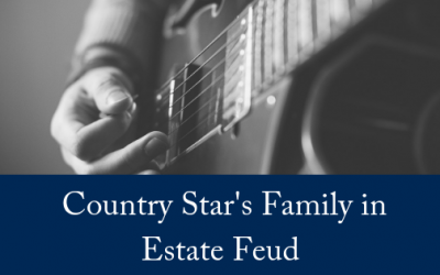 Country Star's Family In Estate Feud